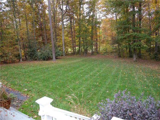 13512 Corapeake Pl backyard
